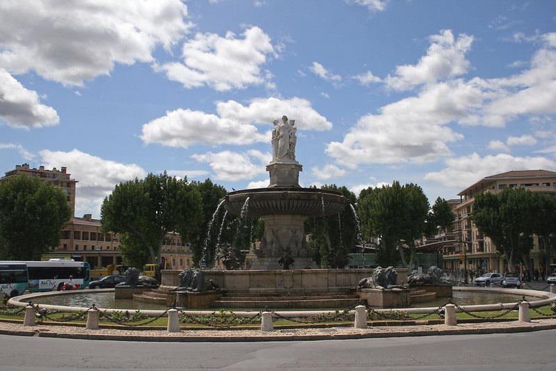 Fontaine de la Rotonde Aix-en-Provence